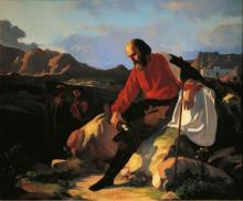 Cabianca (attribuito a), Garibaldi a Caprera.png