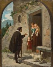 Cabianca (attribuito a), La consegna della lettera.jpg