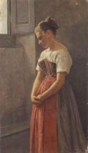 Cabianca (attribuito a), La pensierosa.jpg