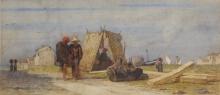 Cabianca (attribuito a), Pescatori sulla riva.jpg