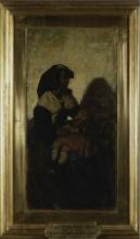 Cabianca, Donna con bambino