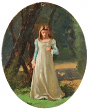 Cabianca, Fanciulla nel bosco.jpg