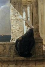 Cabianca, Giovane suora in meditazione.jpg