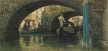 Cabianca, Gondole a Venezia.jpg