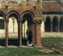 Cabianca, Il portico da san Zeno a Verona.jpg