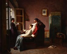 Vincenzo Cabianca, La convalescente