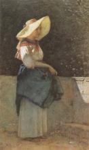 Cabianca, La ragazza con il cappello.jpg