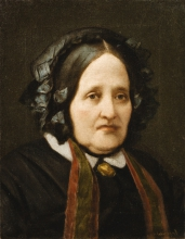Vincenzo Cabianca, Ritratto presunto della madre dell'artista | Presumed portrait of the artist's mother