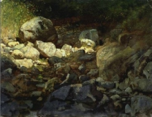 Cabianca, Sassi nel bosco