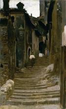 Cabianca, Strada a Palestrina