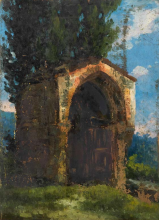 Cabianca, Tabernacolo in campagna.png