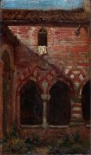 Cabianca, Un chiostro medioevale.jpg