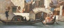 Cabianca, Venezia al ponte dei Barattieri.jpg