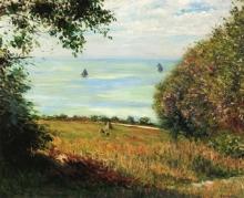 Gustave Caillebotte, Il mare visto da Villerville | La mer vue de Villerville