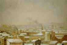 Caillebotte, Parigi sotto la neve | Paris sous la neige | Paris under the snow