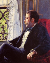 Gustave Caillebotte, Ritratto d'uomo | Portrait d'homme [1880]