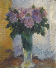 Gustave Caillebotte, Rose in un vaso | Roses dans un vase