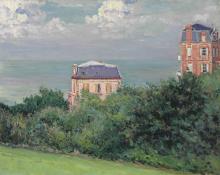 Gustave Caillebotte, Ville a Villers sur Mer | Villas à Villers-sur-Mer