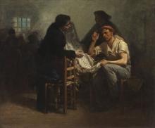 Adolphe-Félix Cals, Acquisto di tessuto