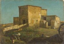 Cammarano, Casolari e contadina.png