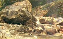 Cammarano, Greto di torrente montano.png