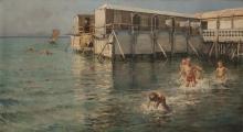 Caprile, Guaglioni | Boys | Baños de mar