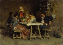 Vincenzo Caprile, Pranzo di nozze