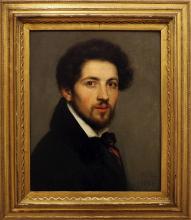 Giovanni Carnovali (detto il Piccio), Autoritratto [1832]