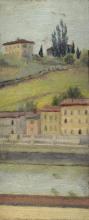 Cecconi (attribuito a), Impressione sull'Arno.jpg