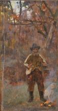Cecconi, Cacciatore con cane [1891 circa].jpg