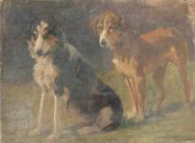 Cecconi, Coppia di cani.jpg