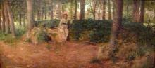 Cecconi, Nella quiete del bosco.jpg