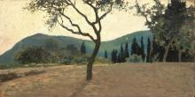 Cecconi, Paesaggio con alberi.jpg