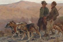 Cecconi, Pronti per la caccia in Maremma [dettaglio].png