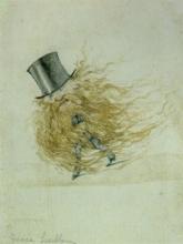 Adriano Cecioni, Caricatura dello scultore Pietro Antonio Freccia
