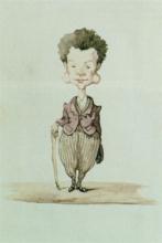 Adriano Cecioni, Caricatura di Boldini