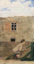 Adriano Cecioni, Giochi d'infanzia