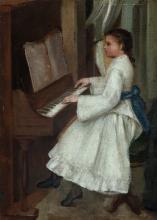 Adriano Cecioni, Giovane pianista