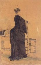 Adriano Cecioni, La signora De Nittis