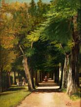 Adriano Cecioni, Viale alberato
