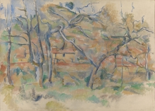 Cezanne, Alberi e case [1].jpg