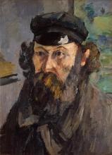 Cezanne, Autoritratto con berretto con visiera.jpg