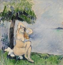 Cezanne, Bagnante in riva al mare.jpg