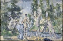 Cezanne, Bagnanti   Baigneurs