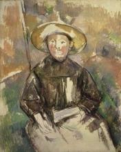 Cezanne, Bambina con cappello di paglia.jpg