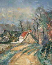 Cezanne, Capanne ad Auvers sur Oise in inverno.jpg