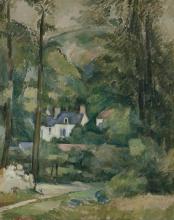 Cezanne, Case nel verde.jpg