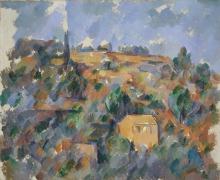 Cezanne, Case sulla collina, Provenza.jpg
