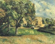 Cezanne, Castagni e fattoria dello Jas de Bouffan [1886 circa].jpg