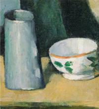 Cezanne, Ciotola e bricco del latte.png